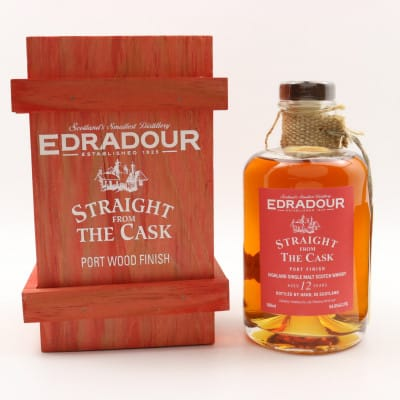 Edradour Straight From The Cask 1994 12 Year Old Port Wood Finish 50cl