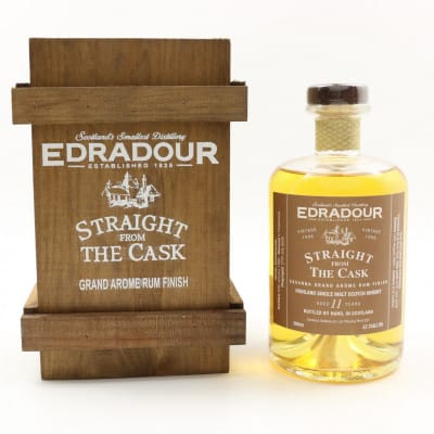 Edradour Straight From The Cask 1996 11 Year Old Savanna Rum Finish 50cl