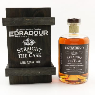 Edradour Straight From The Cask 1996 11 Year Old Super Tuscan Finish 50cl