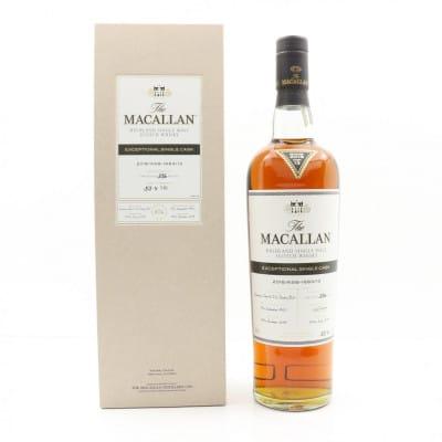 Macallan 1950 Exceptional Cask #13 2018 Release