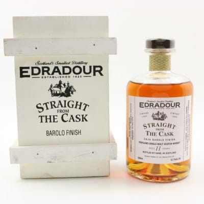 Edradour Straight From The Cask 1995 11 Year Old Gaja Barolo Finish Finish 50cl