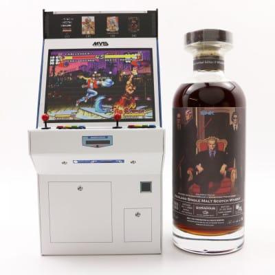Edradour 2009 Single Cask #361 Arcade Machine for NeoGeo 30th Anniversary & Whiskyfest Takao 2020