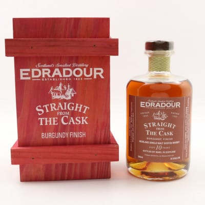 Edradour Straight From The Cask 1995 10 Year Old Burgundy Finish 50cl