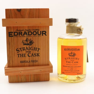 Edradour Straight From The Cask 1994 10 Year Old Single Cask #04/157/2 50cl
