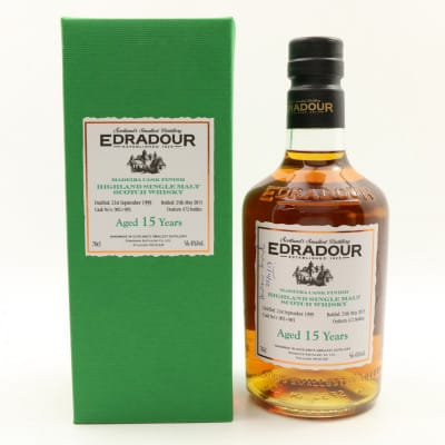 Edradour 1999 15 Year Old Madeira Cask Finish
