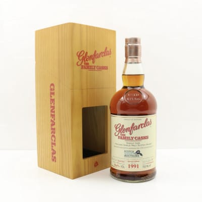 Glenfarclas 1991 Family Cask #210 For The 10th Anniversary of SWA