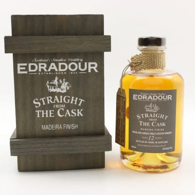 Edradour Straight From The Cask 1994 12 Year Old Madeira Finish 50cl