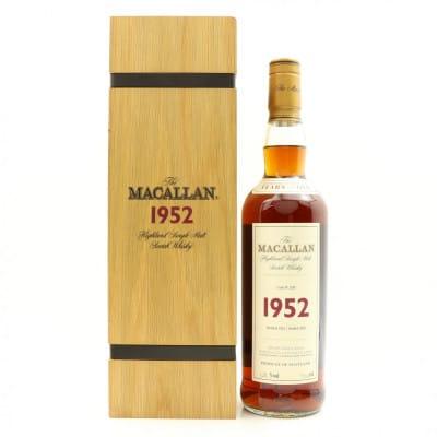Macallan 1952 49 Year Old Fine & Rare
