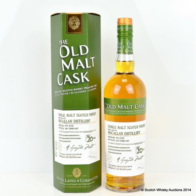 Macallan 1993 20 YEar Old OMC