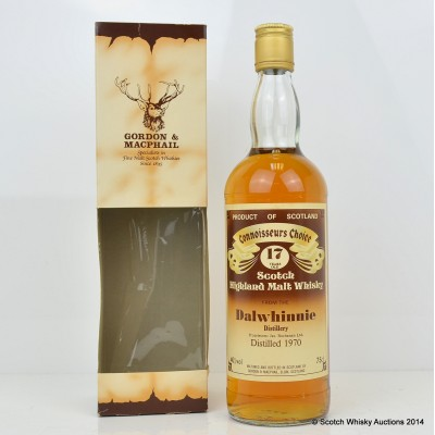 Dalwhinnie 1970 19 Year Old CC 75cl