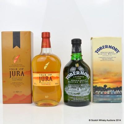 Jura 10 & Tobermory Single Malt