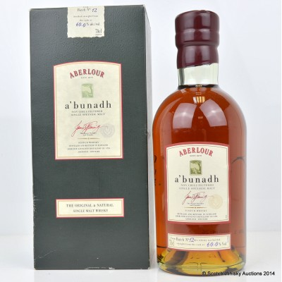 Aberlour A'Bunadh Batch #12