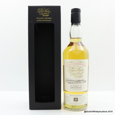 Imperial 1996 22 Year Old Single Malts Of Scotland
