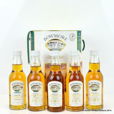 Bowmore Collection 5 x 20cl