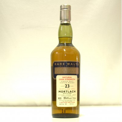 Rare Malts Mortlach 23