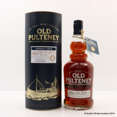 Old Pulteney 2004 Single Cask #128 Whisky Exchange Exclusive