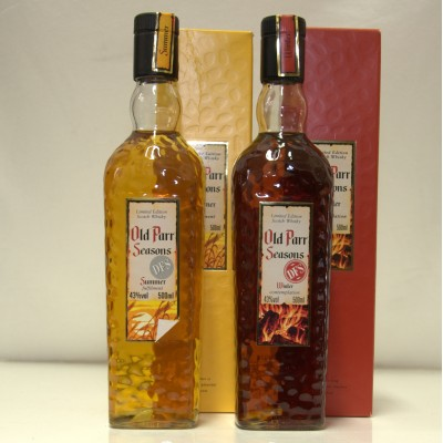 Old Parr Seasons - Summer and Winter