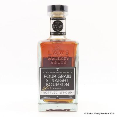 A.D. Laws Four Grain Straight Bourbon 75cl