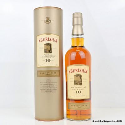 Aberlour Sherry Cask Finish 10 Year Old