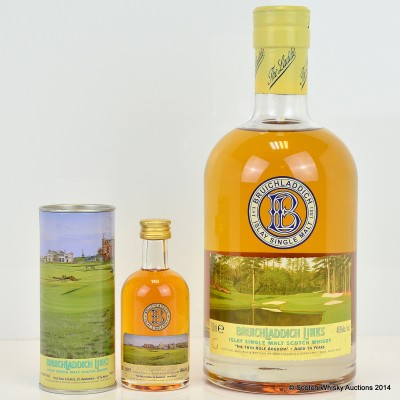 Bruichladdich Links The 16th Hole Augusta 14 Year Old & Old Course St Andrews Minis
