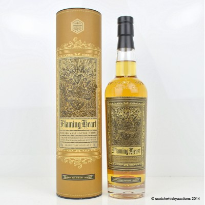 Compass Box Flaming Heart 2012 Release
