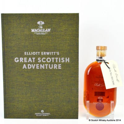 Macallan Masters Of Photography Elliott Erwitt Print No 17 With Signed Cask Label