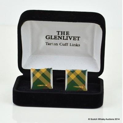 Glenlivet Tartan Cufflinks