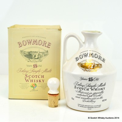 Bowmore 15 Year Old Glasgow Garden Festival Decanter 75cl