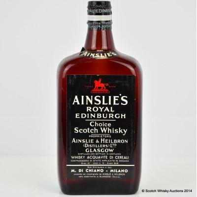 Ainslie's Royal Edinburgh Spring Cap 75cl