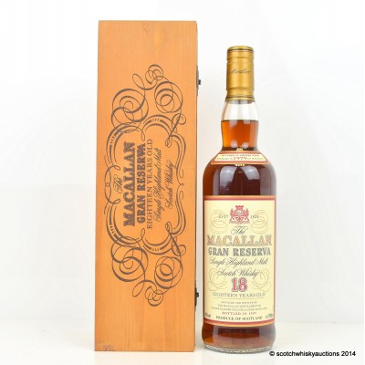 Macallan Gran Reserva 1979 18 Year Old