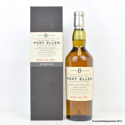 Port Ellen 8th Release 1978 29 Year Old
