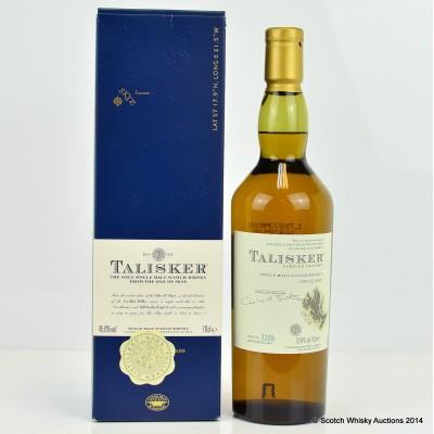 Talisker Distillery Only Cask Strength 2007 Release