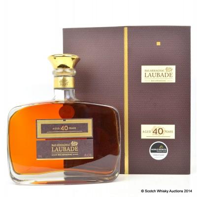 Laubade Bas Armagnac 40 Year Old