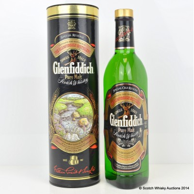 Glenfiddich Special Reserve 12 Year Old Traditions Tube