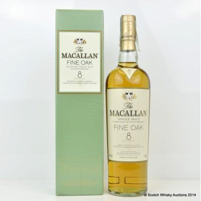 Macallan Fine Oak 8 Year Old