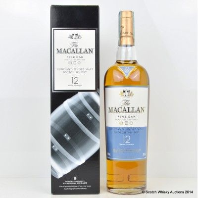 Macallan Nick Veasey Exceptional Casks Fine Oak 12 Year Old