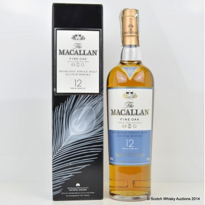 Macallan Nick Veasey Natural Colour Fine Oak 12 Year Old