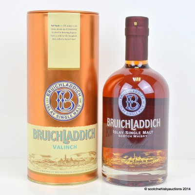 Bruichladdich Valinch Michael Jackson Tribute 50cl