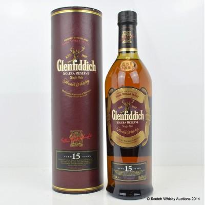 Glenfiddich Solera 15 Year Old