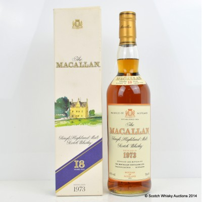 Macallan 1973 18 Year Old