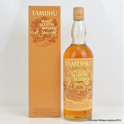 Tamdhu 8 Year Old 26 2/3 Fl Ozs