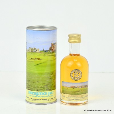 Bruichladdich Links The Old Course St Andrews 14 Year Old Mini 5cl