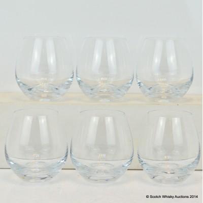 Glenrothes Glasses x 6