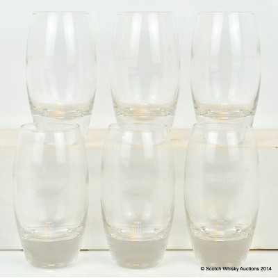 Johnnie Walker Glasses x 6