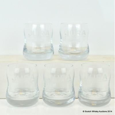 Jura Glasses x 5