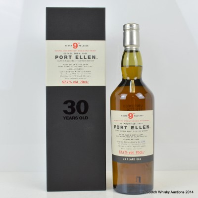 Port Ellen 9th Annual Release 1979 30 Year Old