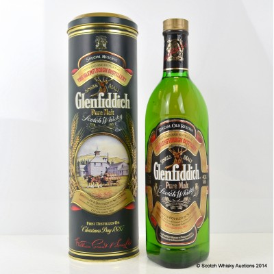 Glenfiddich Special Reserve 12 Year Old 75cl Traditions Tin