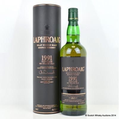 Laphroaig Vintage 1991 23 Year Old