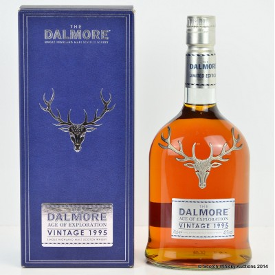 Dalmore Age Of Exploration 1995 Vintage
