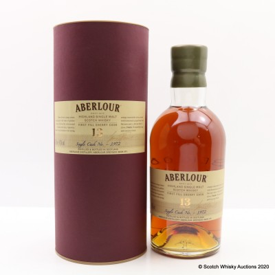 Aberlour 13 Year Old Sherry Cask #3972
